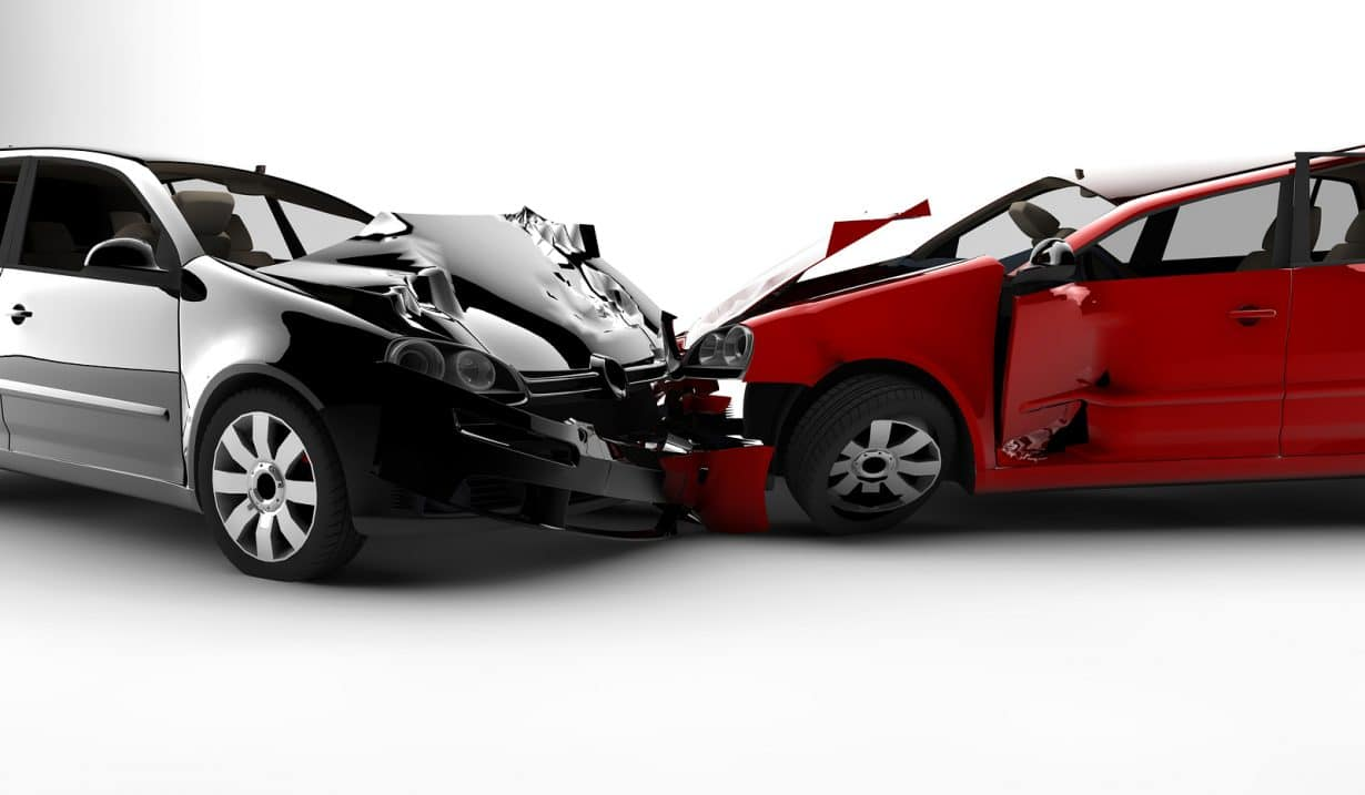 bigstock Accident With Two Cars 10969376