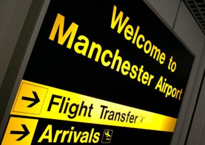 Manchester airport has now made it into Europe's top 20 airports.