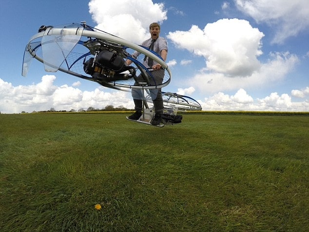 Think you've heard everything? What about a motorbike powering a plane?