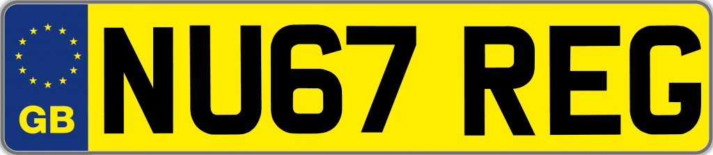 Seen those '67 reg-plates yet?