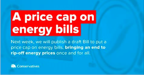 Energy price cap is a cover up!