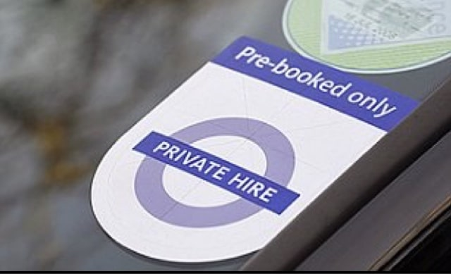 Alterations to the Private Hire Congestion Charge Exemption