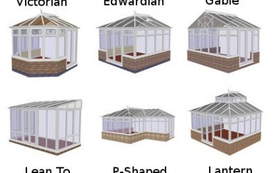 What are the different conservatory styles?