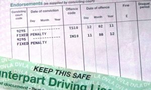 Driving Penalty Points Licence