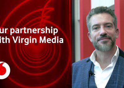 Virgin Media Joins Vodafone in 5-Year Mobile Phone Network Deal