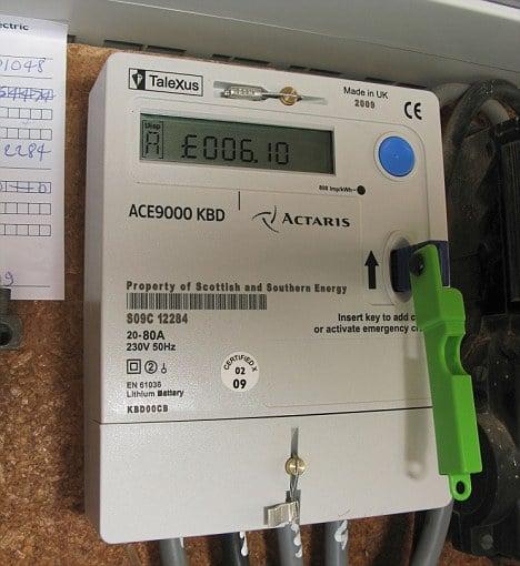 British Gas Prepayment Meter Customers