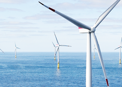 Largest UK Offshore Wind Farm Under Construction