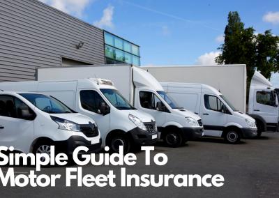 Simple Guide To Motor Fleet Insurance