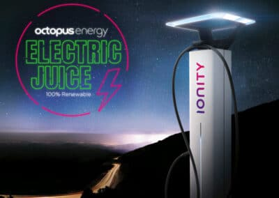 New Electric Juice Network by Octopus Energy