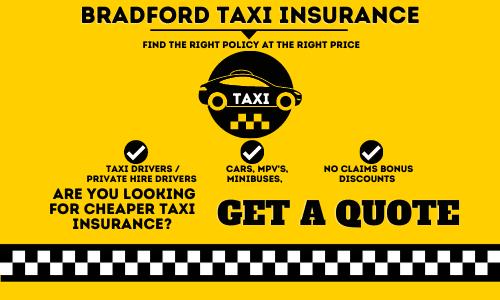 Bradford Taxi Insurance
