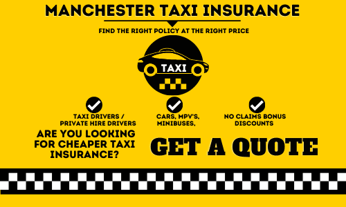 MANCHESTER taxi insurance