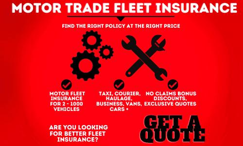 Motor Trade Fleet Insurance