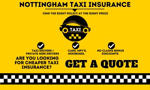 Nottingham Taxi Insurance