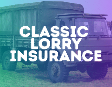 classic lorry insurance
