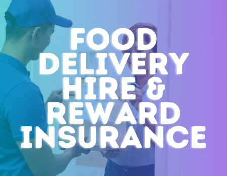 food delivery hhire and reward insurance