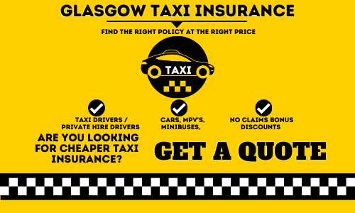 Glasgow Taxi Insurance
