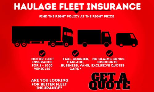 haulage fleet insurance