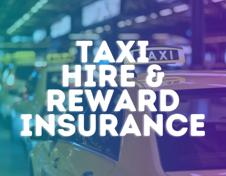 taxi hire and reward insurance