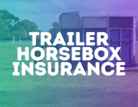 trailer horsebox insurance