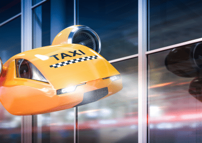 World's First Flying Taxi